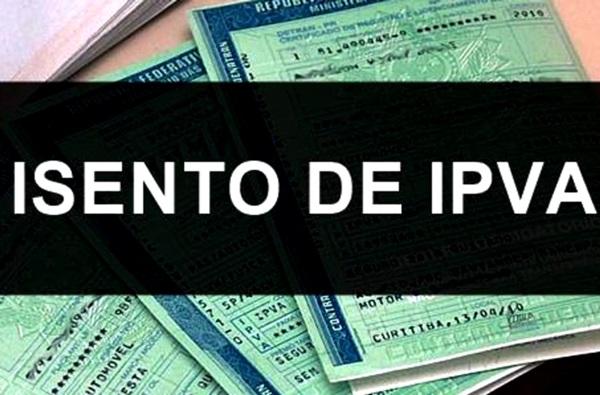 IMAGEM ISENO DE IPVA OK 1 - Cidadão pode comprovar isenção de IPVA com envio de documentos via e-mail para Sefaz