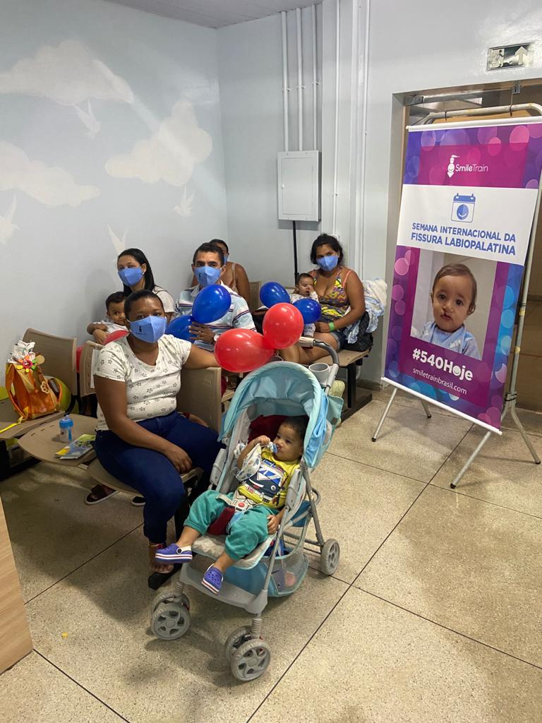 Semana de Fissuras 2020 - Após retomar atendimentos, Serviço de Fissuras Labiopalatinas do HULW celebra Dia Mundial do Sorriso
