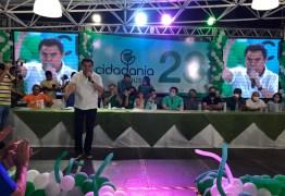 """Wilson Santiago durante homologação da candidatura à reeleição de Tyrone em Sousa: """"será referendado pelo povo"""""""