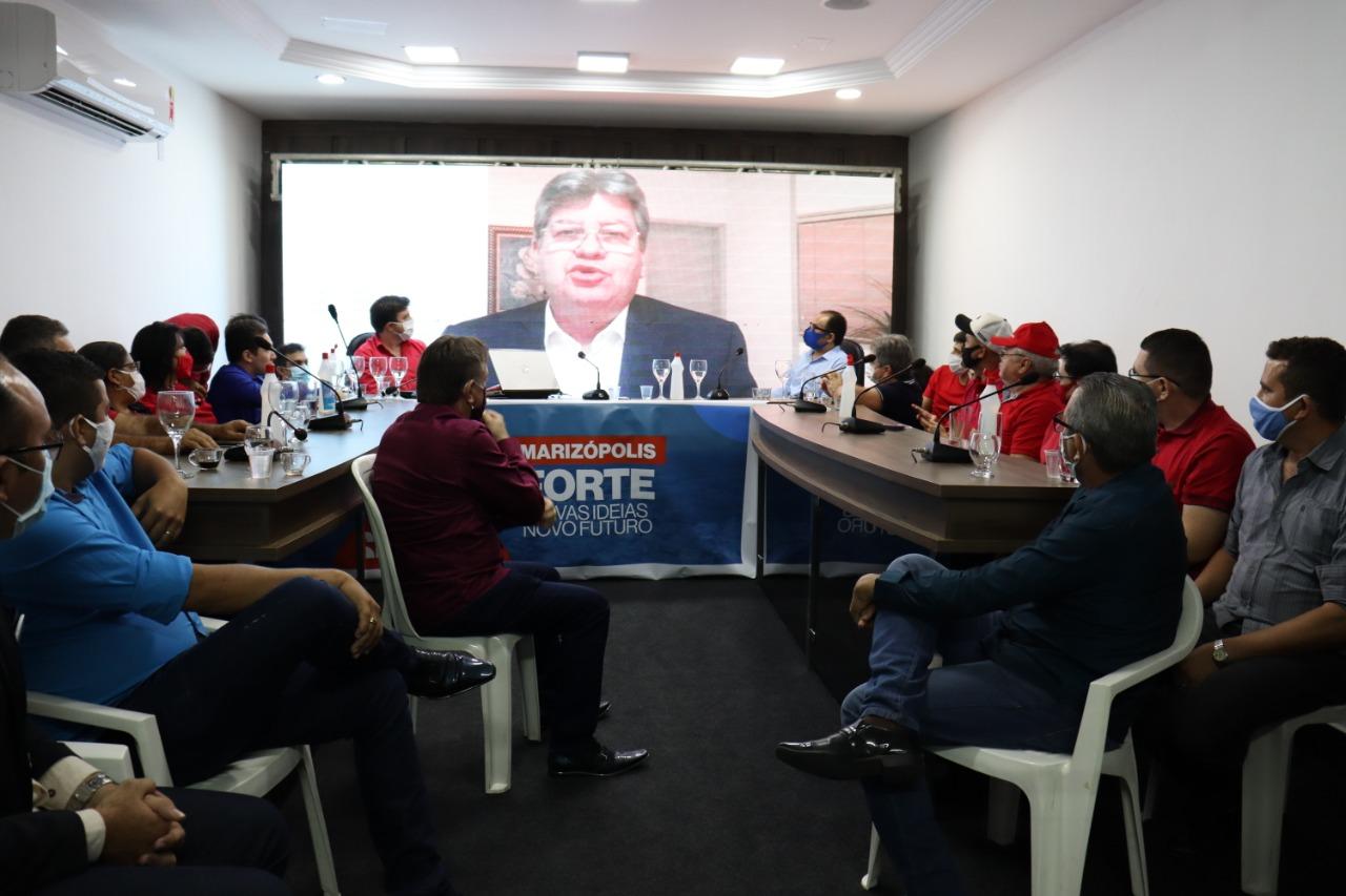 """WhatsApp Image 2020 09 08 at 09.52.42 - Governador João Azevêdo declara apoio a Jeferson e Pastor Eudes, em Marizópolis: """"Chapa já nasceu forte e vitoriosa"""""""