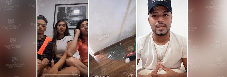 WhatsApp Image 2020 09 14 at 17.35.06 - RELACIONAMENTO ABUSIVO: Digital influencer paraibano estaria sendo espancado por namorado e chama amigos de mentirosos - VEJA VÍDEO