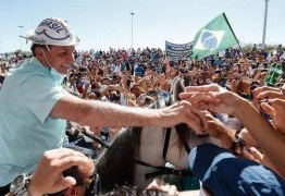 """""""Amanhã estarei na Paraíba"""", escreve Bolsonaro sobre agenda em Coremas"""