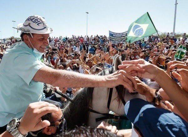 """WhatsApp Image 2020 09 16 at 16.35.15 - """"Amanhã estarei na Paraíba"""", escreve Bolsonaro sobre agenda em Coremas"""