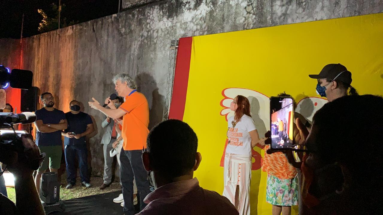 WhatsApp Image 2020 09 16 at 19.26.01 1 - 'Tribufu e cuspidor de microfone': Em convenção, Ricardo Coutinho 'bate' em Wallber, Ruy e Nilvan; VEJA VÍDEO