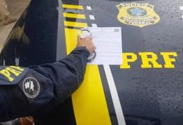 PRF na Paraíba prende foragido da justiça por estelionato