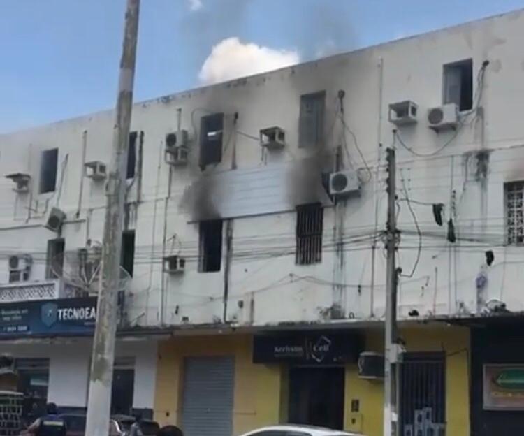 WhatsApp Image 2020 09 28 at 12.18.22 - Ameaça de incêndio atinge sede do Atlético de Cajazeiras; Jogadores saíram pelas janelas - VEJA VÍDEO