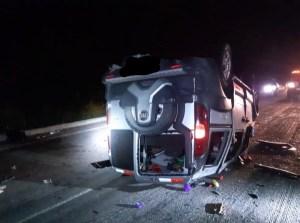 acidente prf 300x223 - PRF na Paraíba registra acidente grave com 13 feridos na noite deste domingo (6)