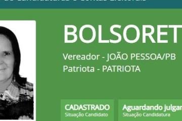 BOLSORETH: candidata de João Pessoa troca nome para se aproximar de Bolsonaro; confira