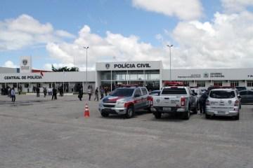 central de polícia Divulgação - Polícias Civis do RN e PB prendem suspeitos por roubo em Carnaúba dos Dantas