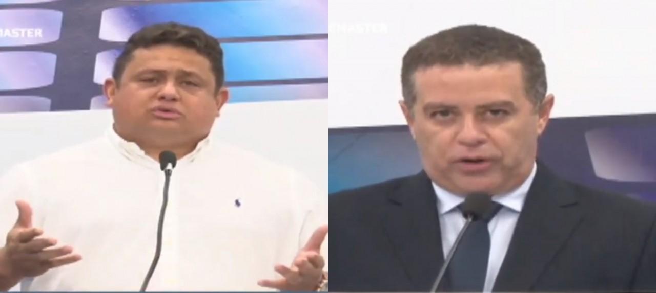 """debate 1 - Novo bate-boca: Wallber Virgolino e João Almedia voltam a discutir e deputado diz que vereador tem """"rabo preso"""" com Cartaxo"""