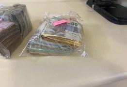 VALIOSAS: operação contra roubo de cargas apreende bolos de nota de R$ 200 no Rio