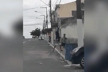 drogas presídio - Polícia Civil prende em flagrante homem que arremessava drogas para a cadeia pública de Esperança - VEJA VÍDEO