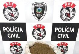 PC prende dupla com 15 quilos de maconha na Zona Rural de Campina