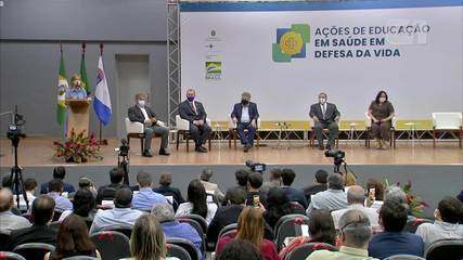 evento - Evento do governo federal com ministros descumpre decreto contra a covid-19