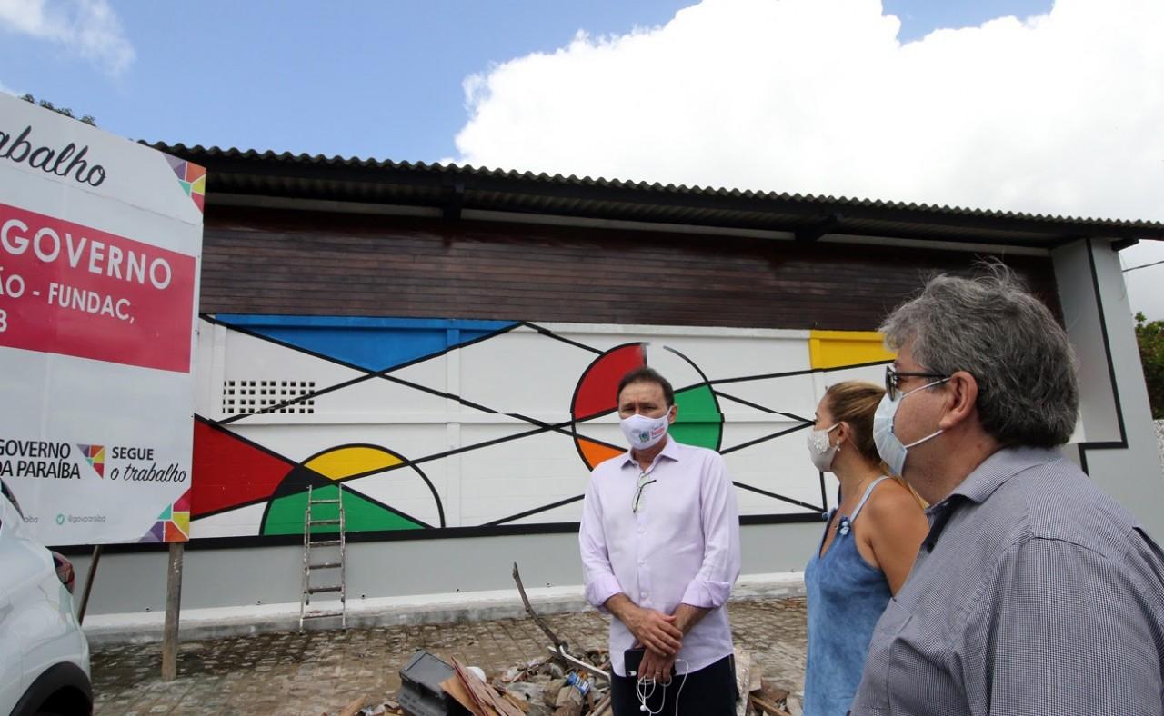 joao1 - João Azevêdo realiza visita técnica a obras de habitação, esporte e social em João Pessoa