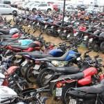 motos e carros apreendidos walla santos 26 - Detran-PB promove leilões de veículos online com lances a partir de R$ 100