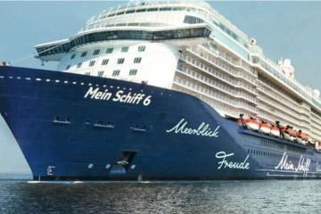 navio - 1º cruzeiro a atracar na Grécia após reabertura tem 10 casos de Covid