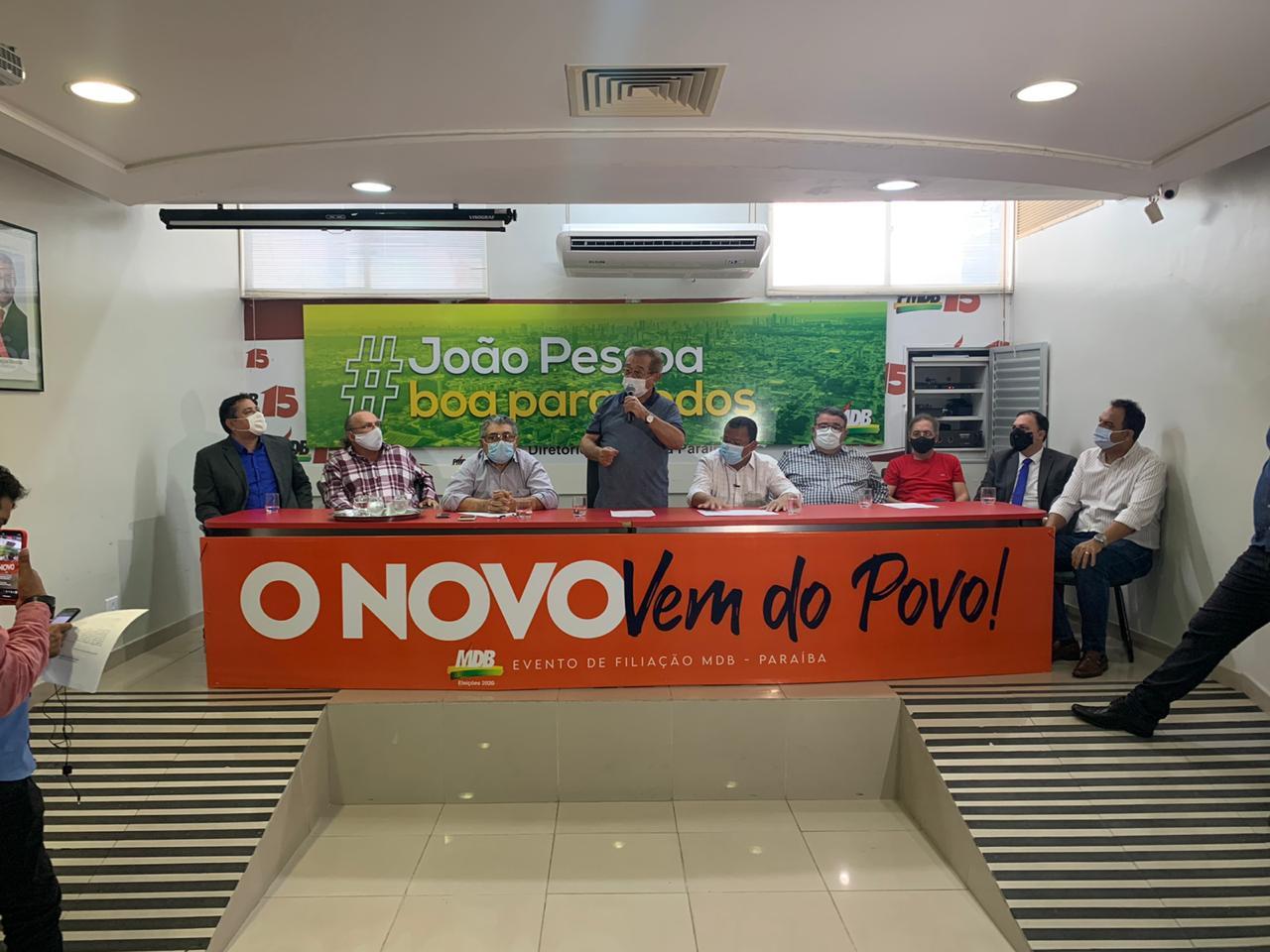 nilvan anuncio - Nilvan Ferreira oficializa chapa com Major do Exército sendo candidato a vice-prefeito