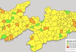 PLANO NOVO NORMAL: 187 municípios estão em bandeira amarela na Paraíba