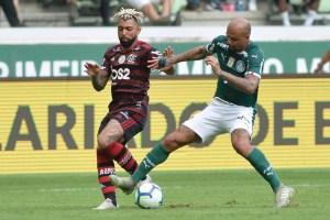 palmeiras e flamengo 300x200 - Justiça do Trabalho suspende jogo entre Palmeiras e Flamengo após surto de Covid no rubro-negro