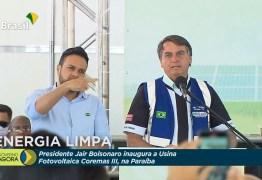 Bolsonaro inaugura Complexo de Energia Solar em Coremas – VEJA VÍDEO