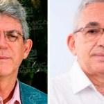 ricardo e antonio - ALIANÇA: PT oficializa candidatura de Antônio Barbosa como vice de Ricardo Coutinho em JP; LEIA DOCUMENTO