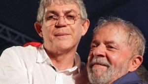 ricardo e lula 300x170 - NOTA NACIONAL: PT reafirma apoio a Ricardo Coutinho e retirada de Anísio Maia da disputa pela Prefeitura de João Pessoa