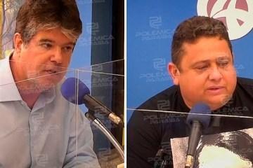 """ruy x wallber - """"Em João Pessoa, o atual secretário de saúde é um advogado que nunca advogou"""", alfineta Wallber em debate da Arapuan FM"""