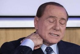 Silvio Berlusconi é internado na Itália com princípio de pneumonia
