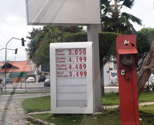 unnamed 37 - Litro da gasolina fica 0,48% mais caro em Campina Grande