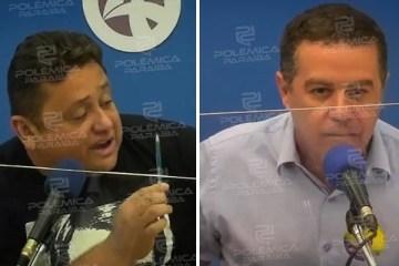 """Em debate, João Almeida responde acusações de Wallber Virgolino: """"Pare de ser fake"""" – VEJA VÍDEO"""