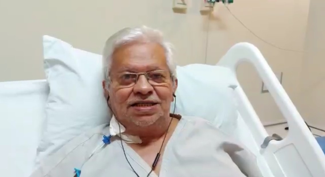 wellington farias 1 - Após cirurgia, jornalista Wellington Farias agradece mensagens de apoio que recebeu – VEJA VÍDEO