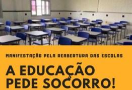 Movimentos organizam protestos pela reabertura das escolas particulares na capital