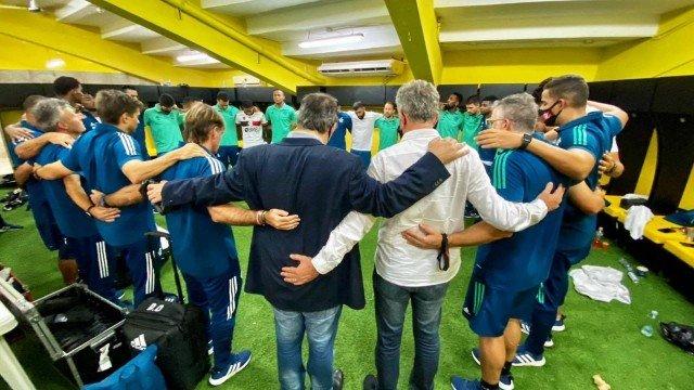 xflamengo 2020jogadores no vestiario em guayaquil.jpg.pagespeed.ic .amKTM85G G - Desembargadora recusa pedido da CBF e veta Palmeiras x Flamengo neste domingo