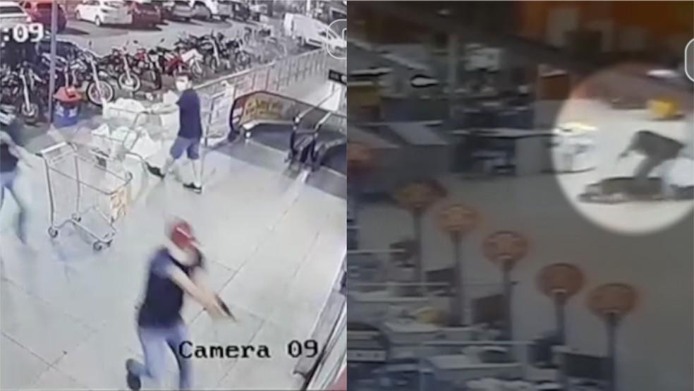 0922 - Assaltantes confundem quiosques e roubam bijuterias em vez de joias