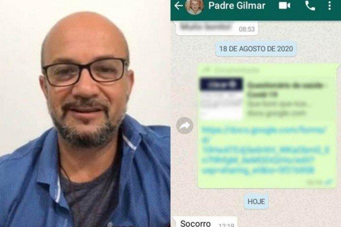 1 padre gilmar 6343292 - SEQUESTRO FORJADO: Arquidiocese ainda não teve acesso a relatório do inquérito