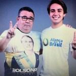 225511 - Candidato bolsonarista é agredido em João Pessoa, e tem carro levado por bandidos; confira