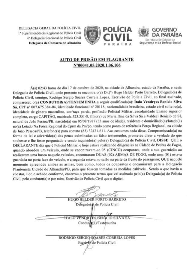 24b20b20 926a 420f 917f a3d07f94db29 1 - PEDRAS DE FOGO: candidatos a vereadores e militares de Manoel Júnior são presos por porte ilegal de arma, e intimidação de eleitores; confira