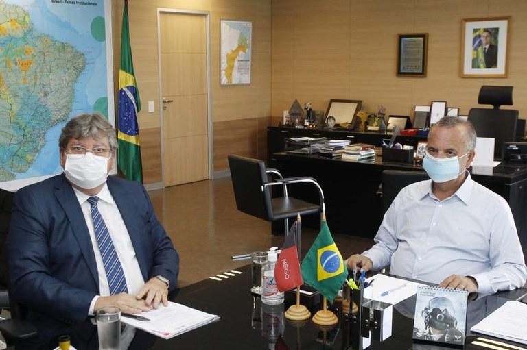 2c737f7a a1b6 4fcb a80c e562617b37ed - João Azevêdo pleiteia em Brasília obras hídricas e assegura investimentos em habitação em reunião com ministro Rogério Marinho