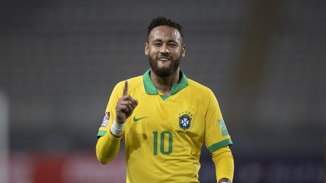 50473877788 6462436601 4k - 4 x 2: Brasil vence de virada, e Neymar se torna o 2º maior artilheiro da Seleção