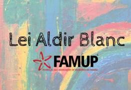 Famup disponibiliza aos municípios modelo de cadastro para trabalhadores do setor cultural