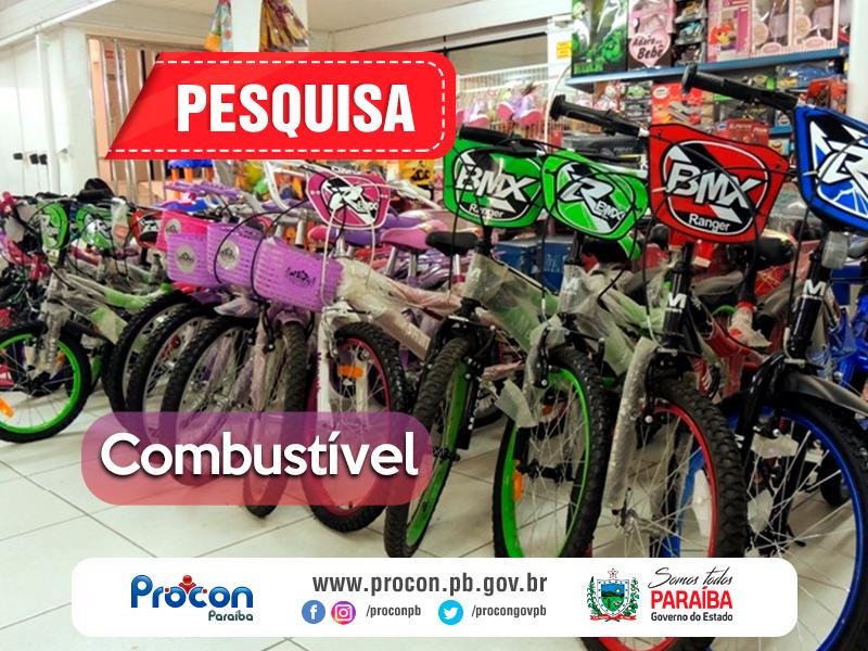 BIKE - Pesquisa do Procon divulga preço de bicicletas infantis para o Dia das Crianças