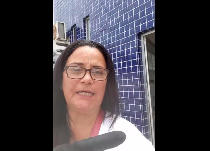 Capturar 7 - Moradora da cidade de Cabedelo denuncia falta de atendimento em policlínica e cobra providências do prefeito Vitor Hugo - VEJA VÍDEO