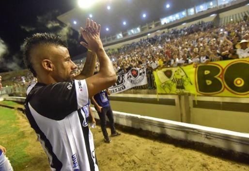 Capturar.JPGe  - Botafogo-PB anuncia saída do jogador Léo Moura