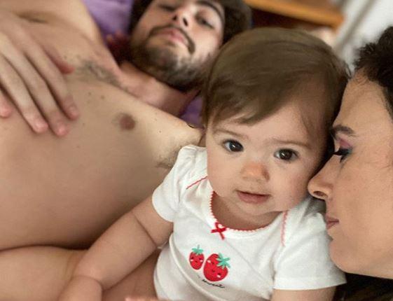 Capturar.JPGrf  - Tata Werneck comemora 1º ano da filha com Rafael Vitti: 'Razão da minha vida'