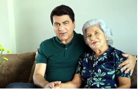 MANOEL JR E MAE - LUTO: Morre Lucila Ribeiro, mãe do vice-prefeito de JP, Manoel Júnior