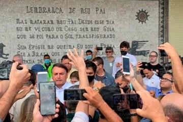 WhatsApp Image 2020 10 01 at 09.58.04 - Bolsonaro é recebido por eleitores em Campina Grande - VEJA VÍDEO