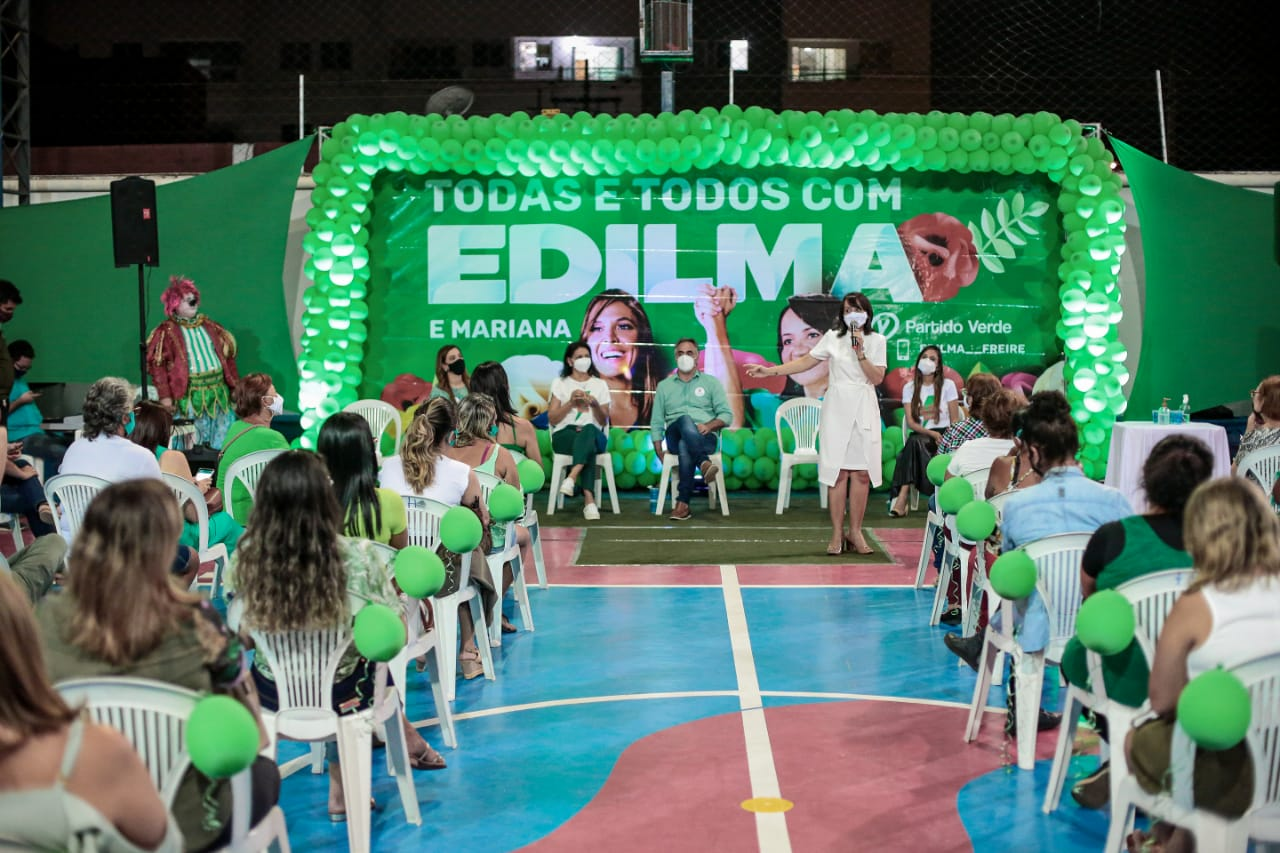 WhatsApp Image 2020 10 04 at 09.33.56 - Em noite de encontro com a força feminina, Edilma e Mariana reforçam compromisso com as mulheres da Capital