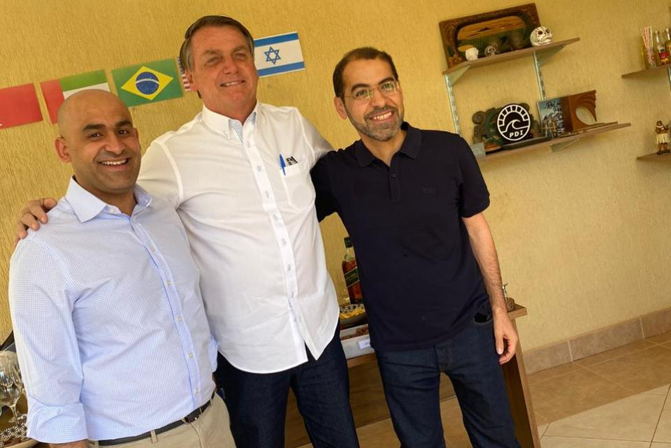 WhatsApp Image 2020 10 04 at 14.48.17 1 - Em churrasco com embaixadores, Bolsonaro celebra acordo no Oriente Médio