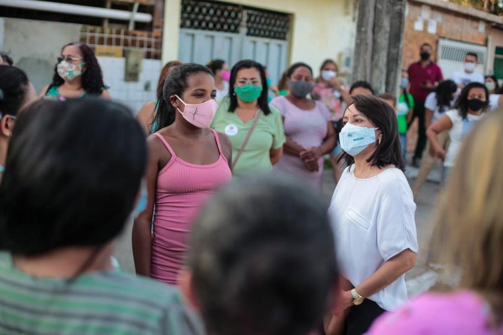 WhatsApp Image 2020 10 07 at 07.23.15 1024x682 - Edilma Freire visita o Citex e garante criação de rede de cozinhas comunitárias para a cidade